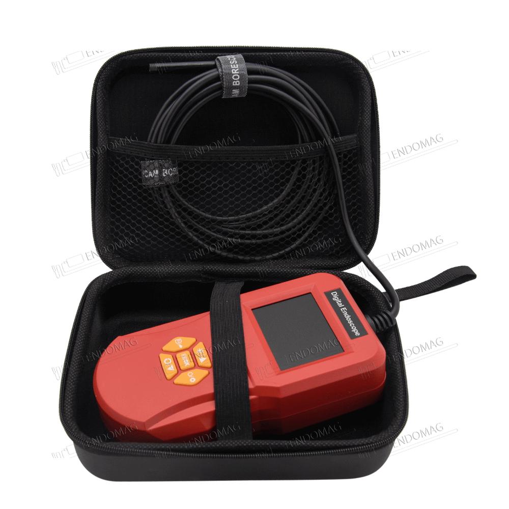 Эндоскоп Inskam 127 с LCD экраном 2.4 дюйма HD (3 метра), камера 5.5 мм, водонепроницаемый - 2
